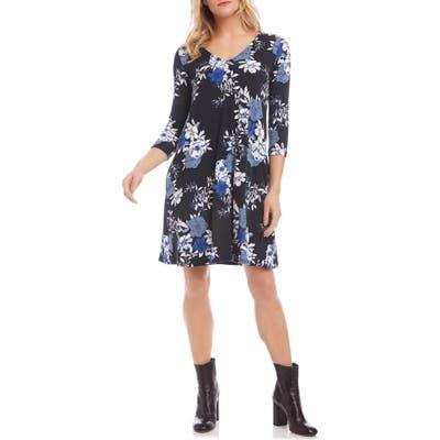 Karen Kane Tessa Floral Dress, Blue