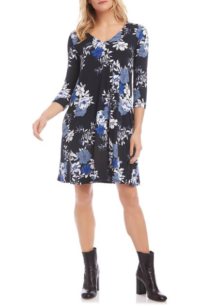 Karen Kane Dresses TESSA FLORAL DRESS