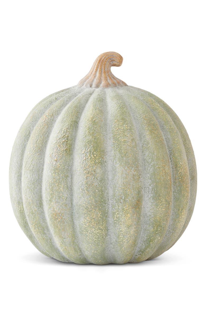 K & K INTERIORS Terracotta Pumpkin, Main, color, GREEN