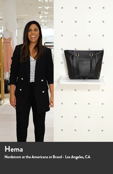 Olivia Core Leather Tote, sales video thumbnail
