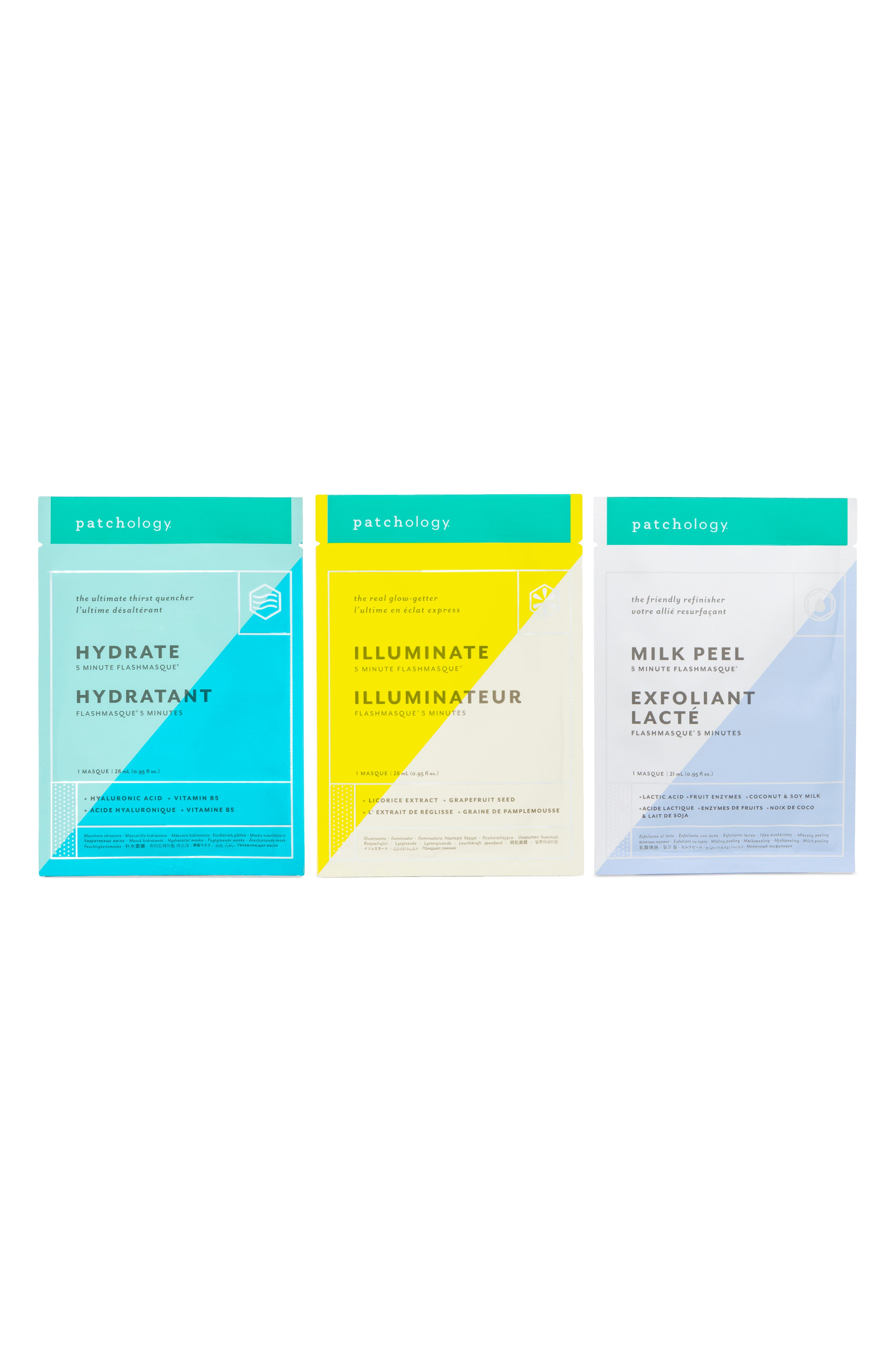 Patchology Perfect Weekend Masque Trio