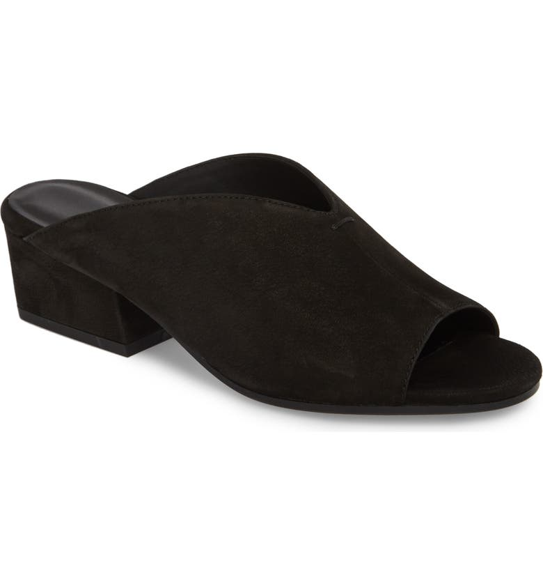 EILEEN FISHER Slide Sandal, Main, color, 001