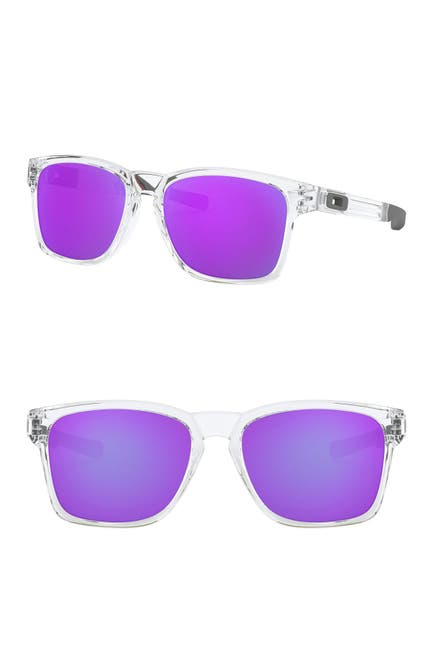 Image of Oakley 56mm Rectangle Sunglasses