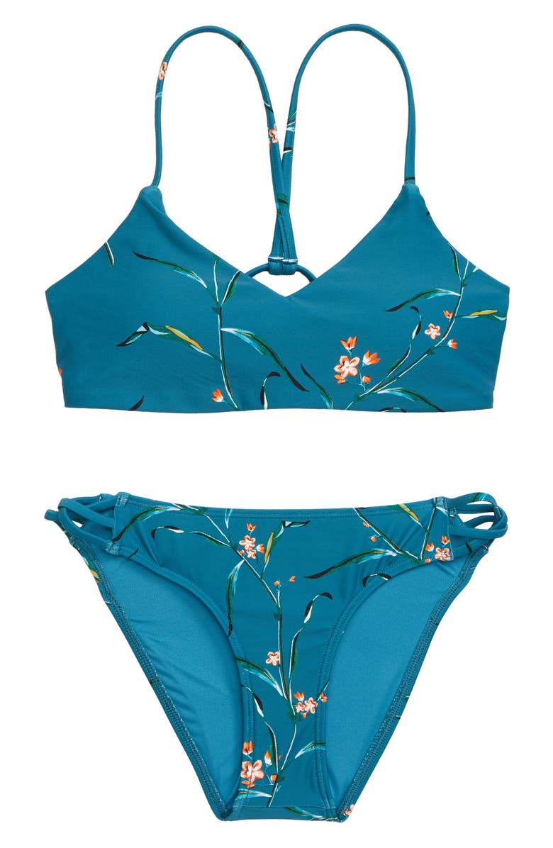 O'NEILL Chloe Bralette Two-Piece Swimsuit, Main, color, OCEAN