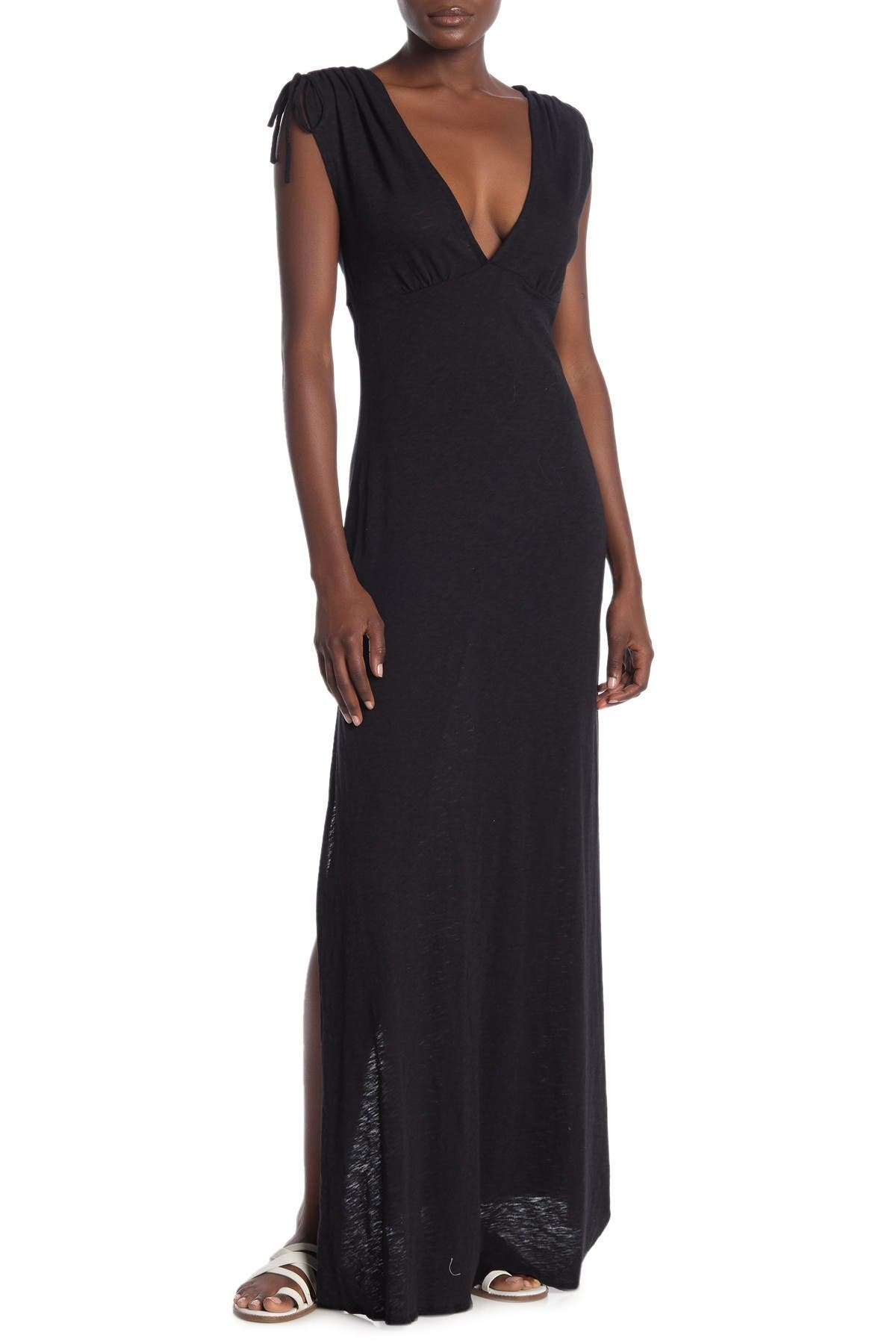 Image of Vitamin A Selma Tie Strap Cover-Up Maxi Dress