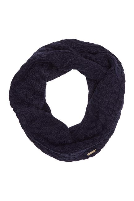 Image of Michael Kors Patchwork Cable Knit Infinity Scarf
