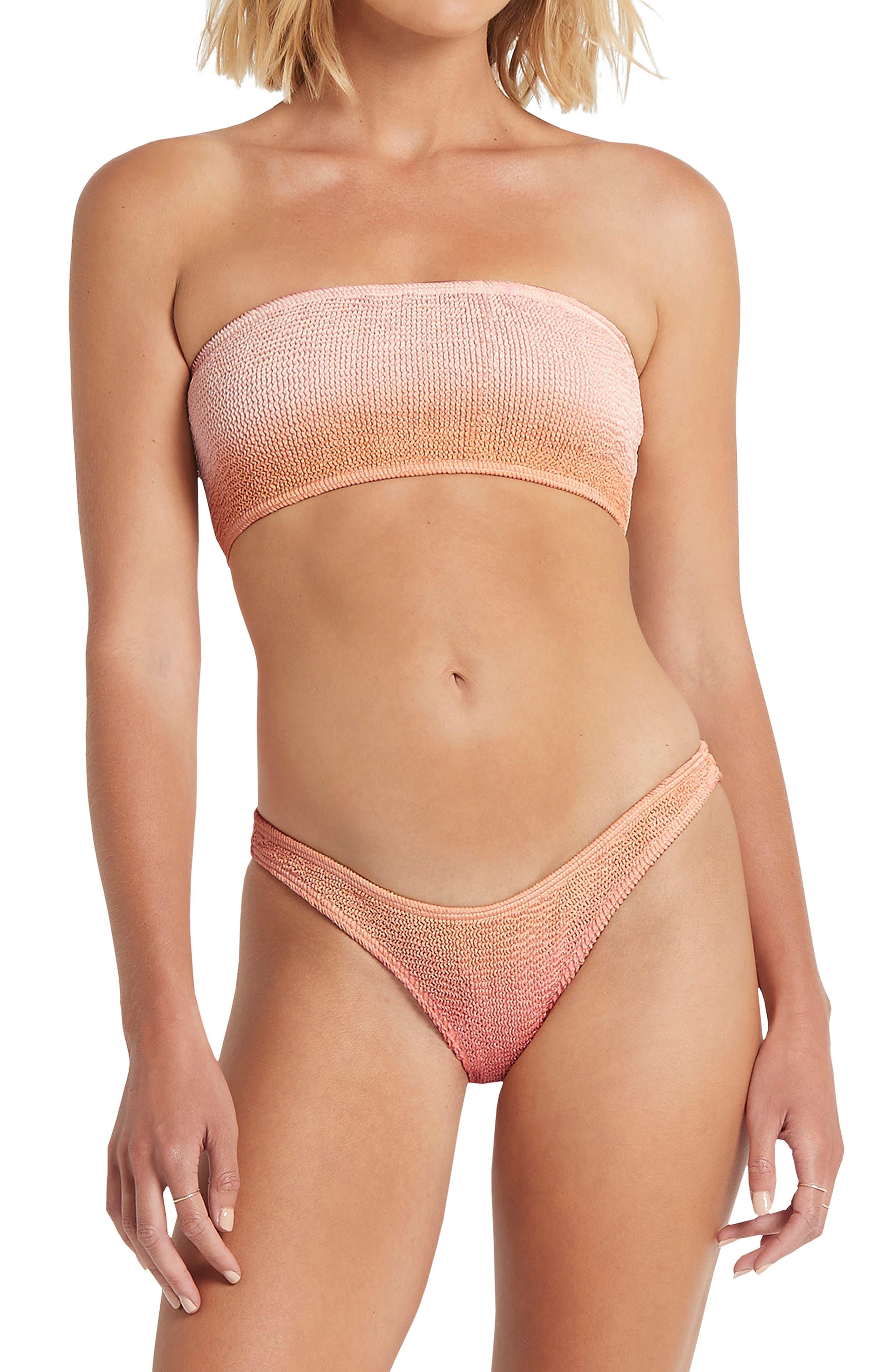 The Sierra Bandeau Bikini Top