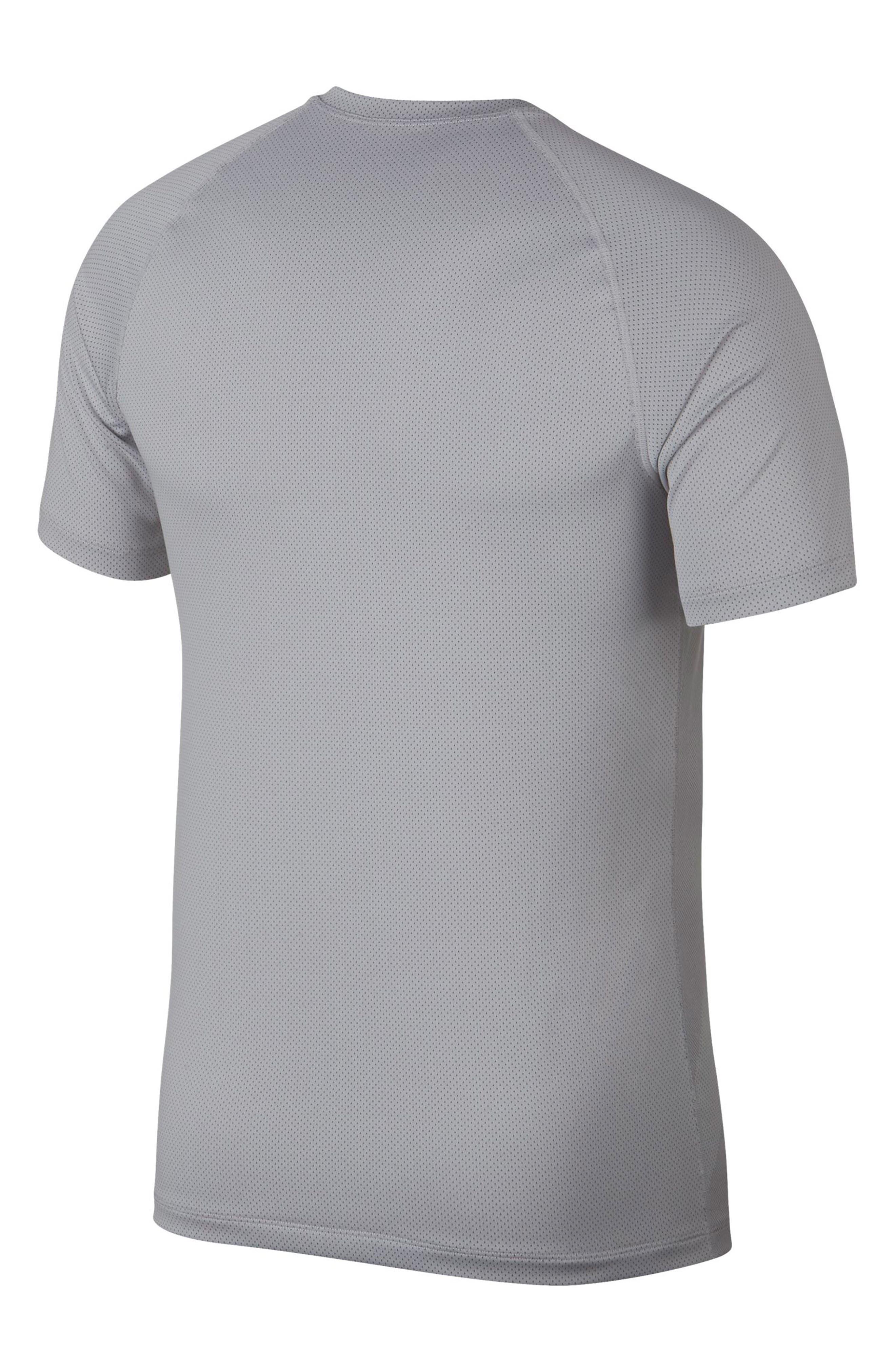 ,                             Pro Dri-FIT Perforated T-Shirt,                             Alternate thumbnail 7, color,                             VAST GREY/ GUNSMOKE/ VAST GREY