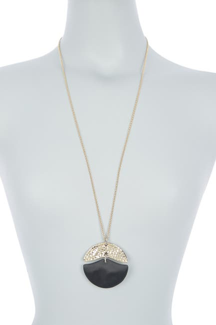 Image of Alexis Bittar Hammered Mobile Pendant Necklace