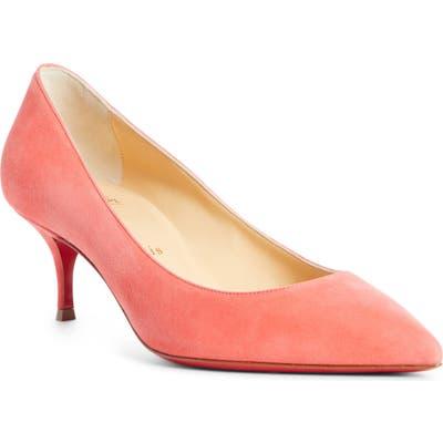 Christian Louboutin Kate Kitten Heel Pump - Pink