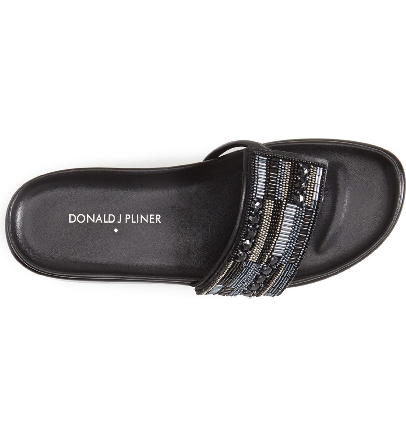 7c1f290c22 Donald J Pliner 'Fifi' Beaded Thong Wedge Sandal (Women) | Nordstrom