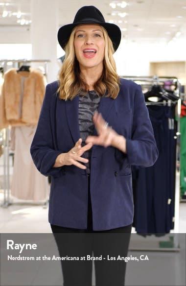 Katharine Stripe Crop Pajamas, sales video thumbnail