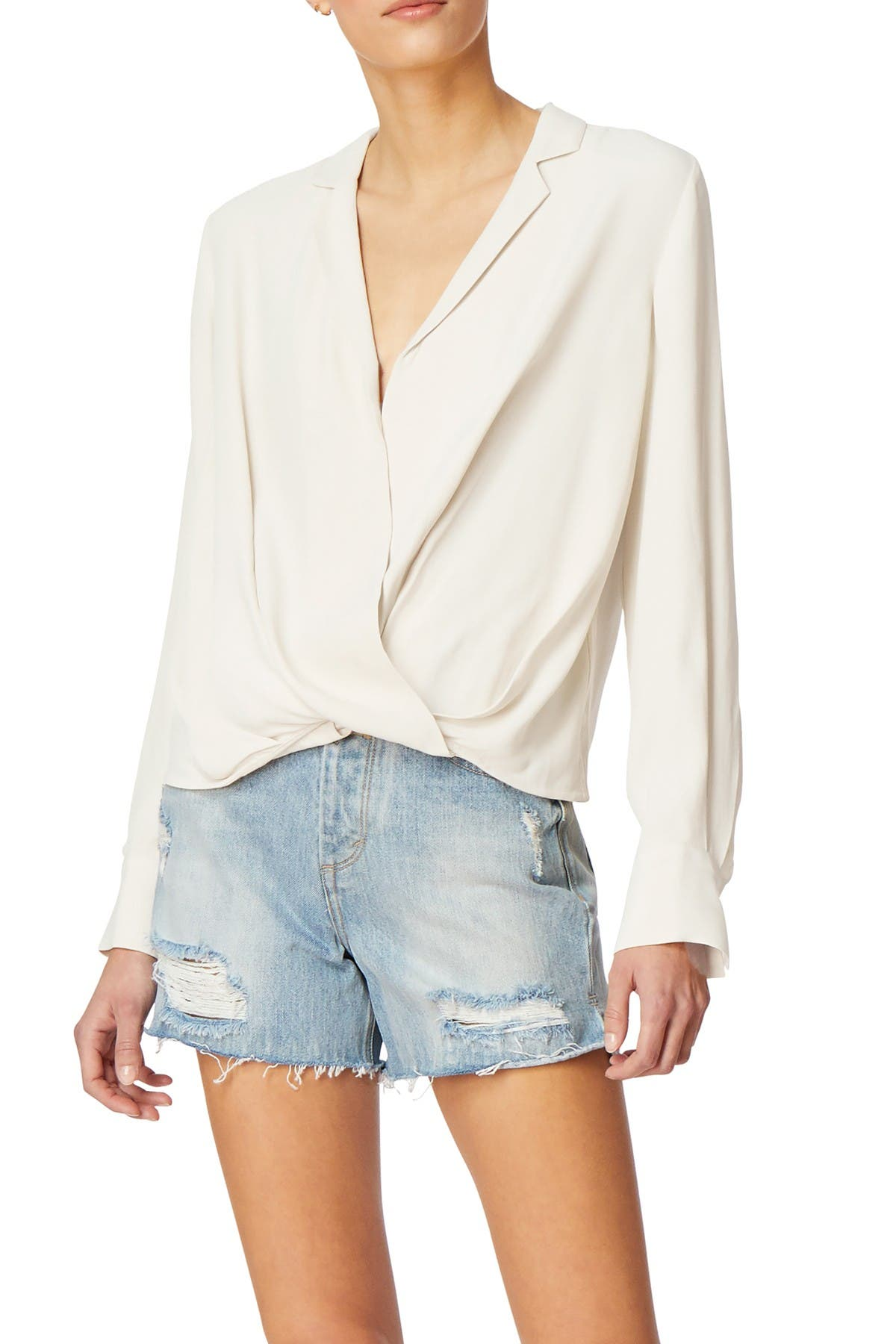 Image of Habitual Waverly Wrap Top