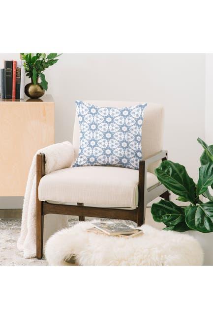 Deny Designs Jacqueline Maldonado Shibori Grey Square Throw Pillow Nordstrom Rack
