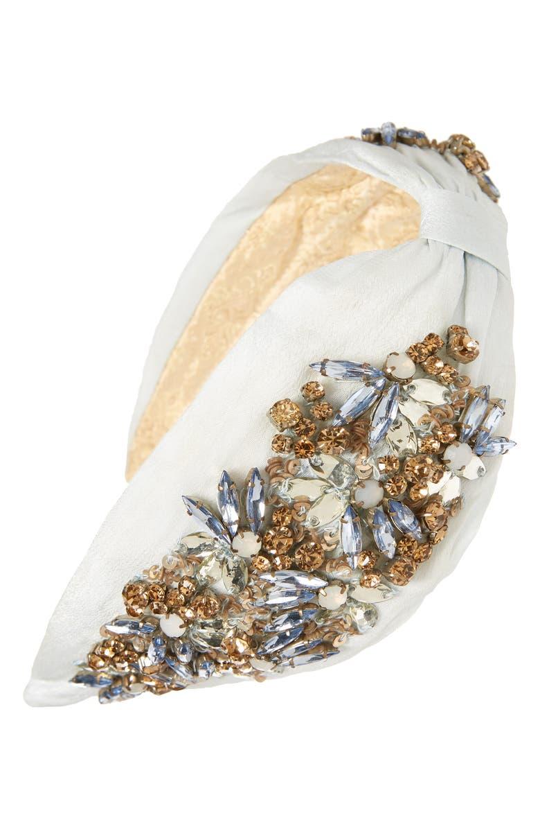 NAMJOSH Jewel Embellished Headband, Main, color, 400