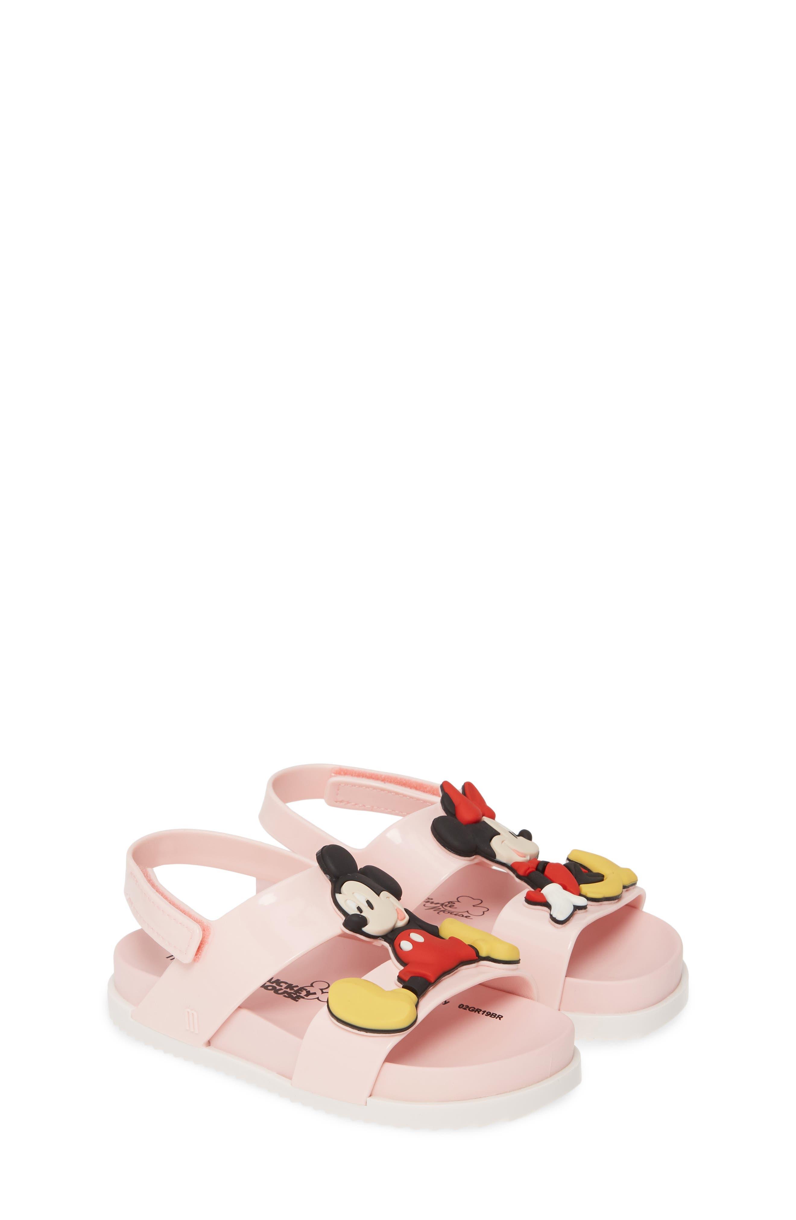 Toddler Girls Mini Melissa X Disney Cosmic Sandal Size 9 M  Pink