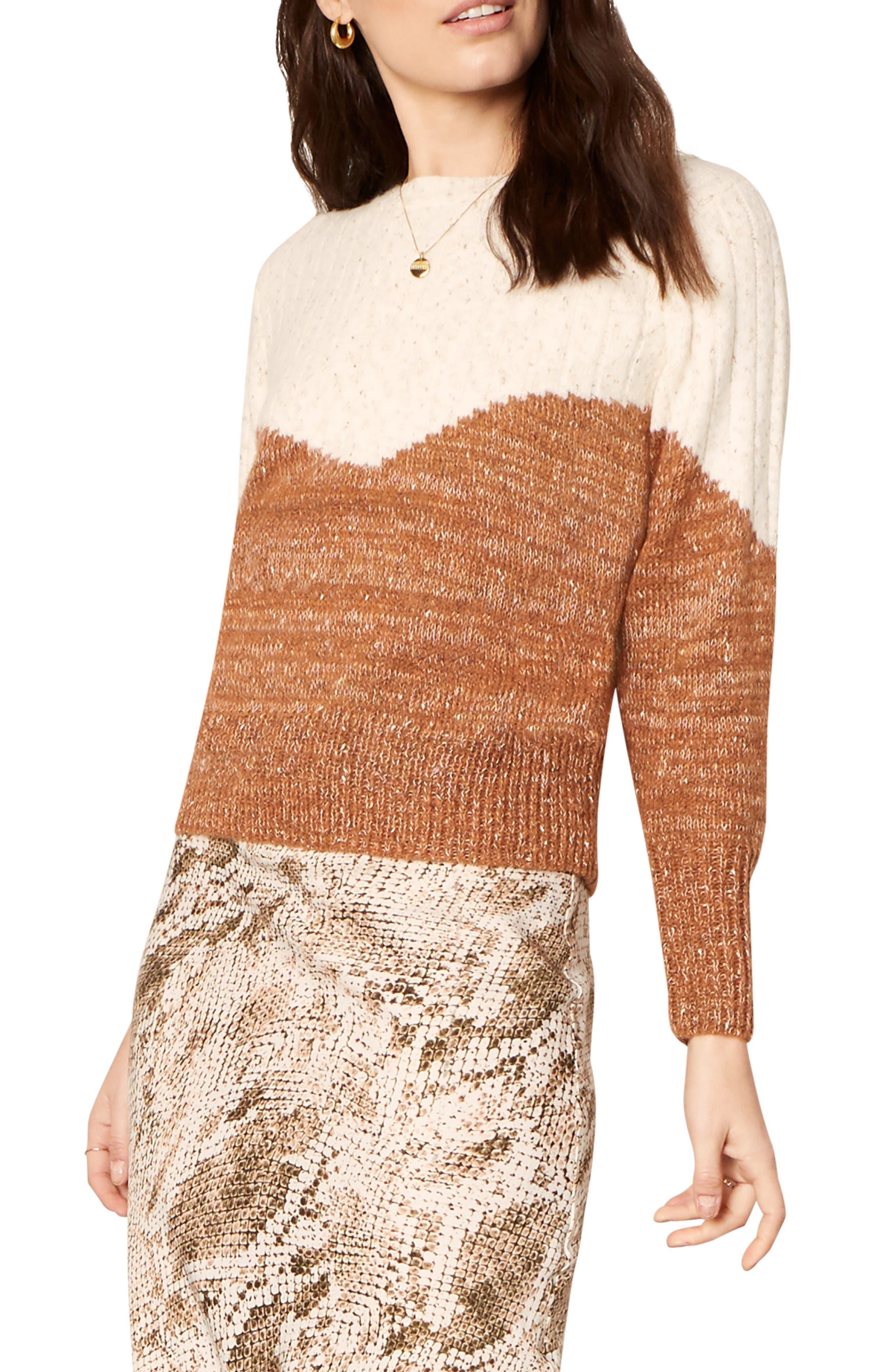 Faith Bicolor Sweater