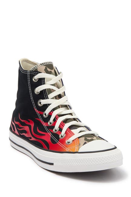 Image of Converse Chuck Taylor All Star Flame High Top Sneaker