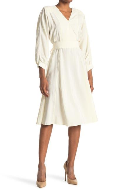 Image of ba&sh Cauk Waist Tie Dress