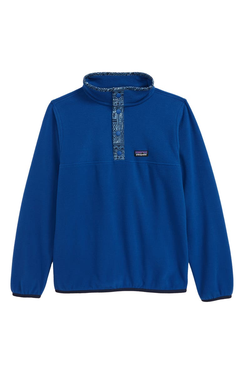 PATAGONIA Micro D<sup>®</sup> Snap-T<sup>®</sup> Fleece Pullover, Main, color, SUPERIOR BLUE