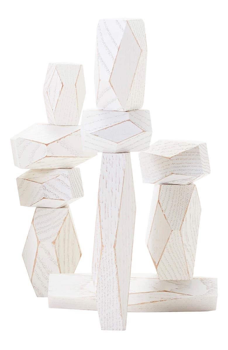 AREAWARE Balancing Blocks Stacking Set, Main, color, 100