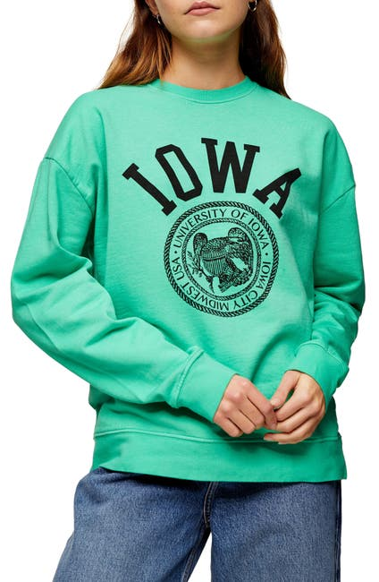 Image of TOPSHOP Iowa Crewneck Sweatshirt
