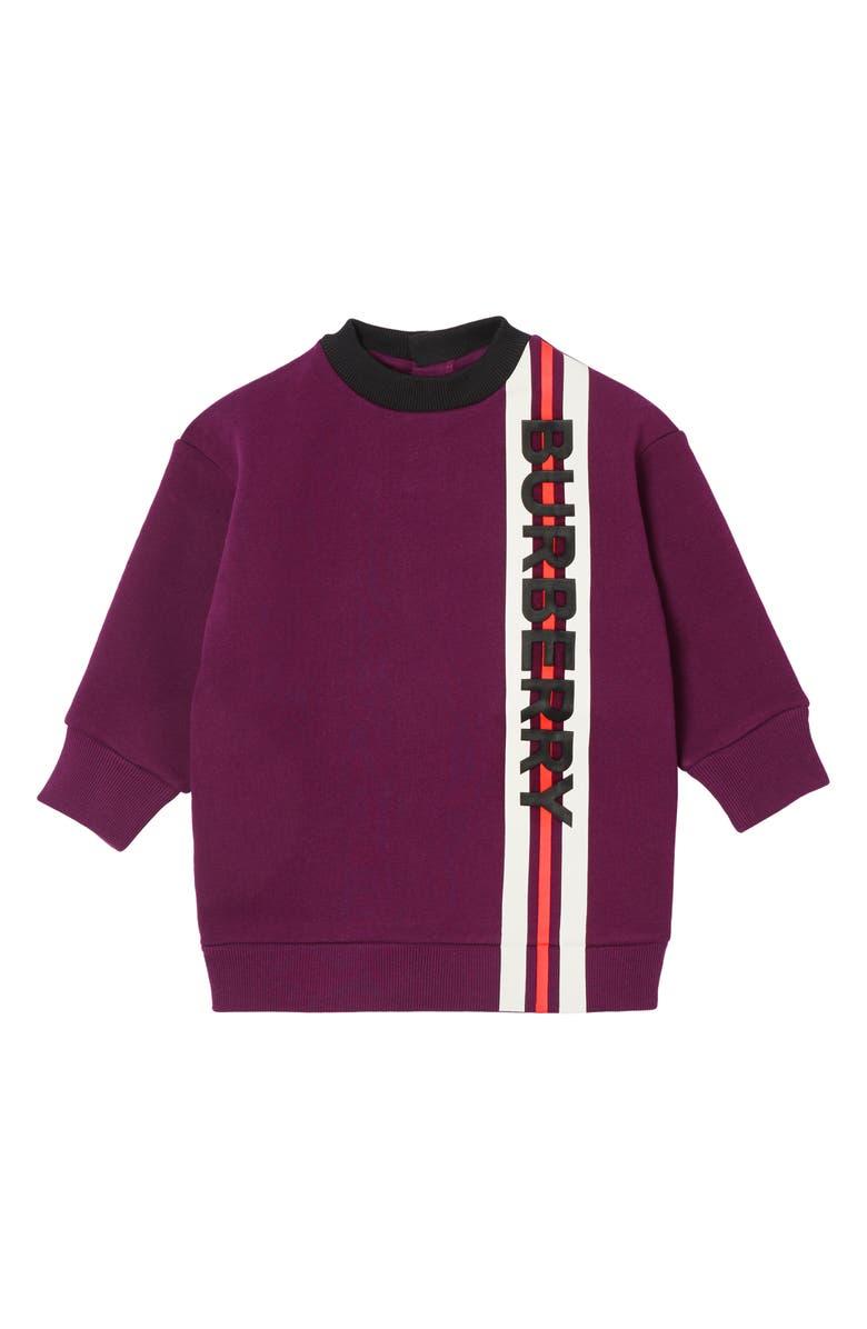 BURBERRY Letisha Sweatshirt Dress, Main, color, 930