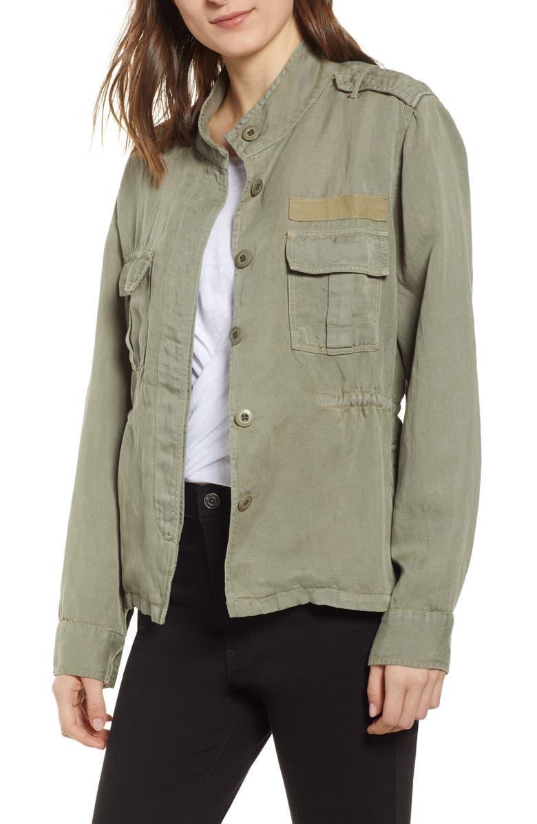 RAILS Sahara Utility Jacket, Main, color, SAGE