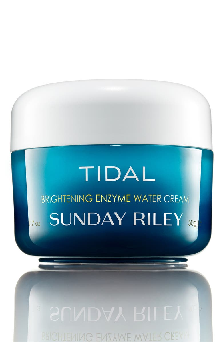 SUNDAY RILEY Tidal Brightening Enzyme Water Cream, Main, color, NO COLOR