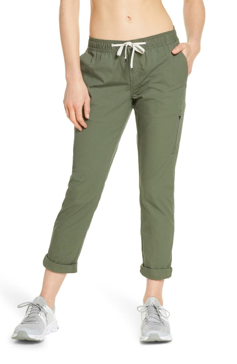 VUORI Ripstop Pants, Main, color, ARMY
