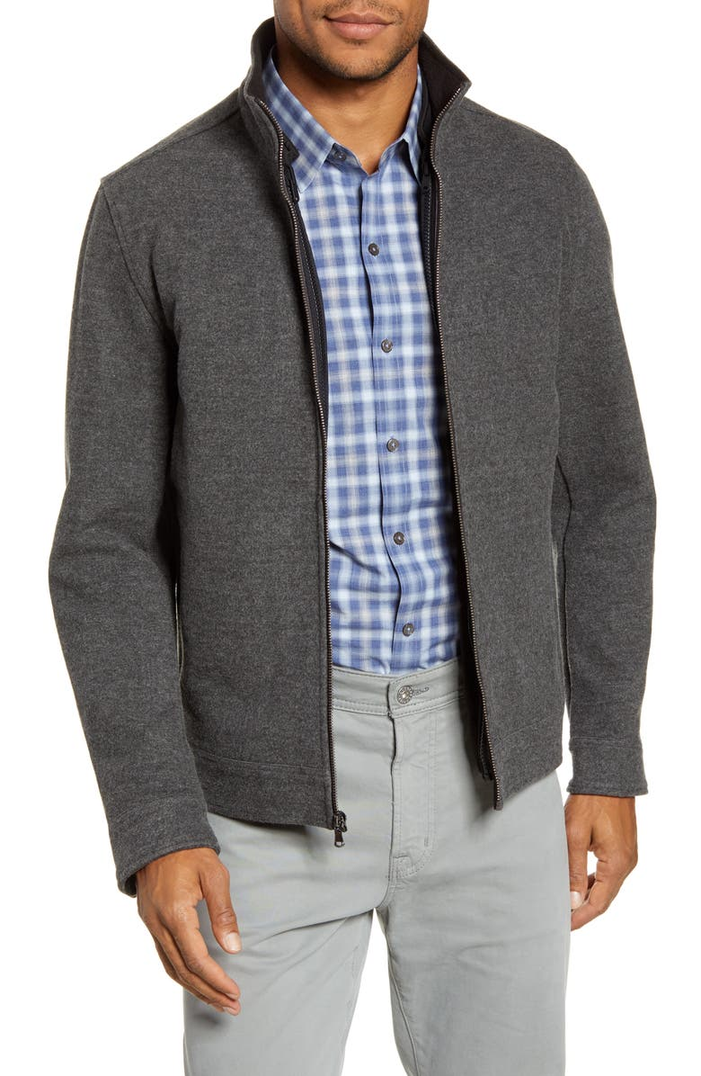 ZACHARY PRELL 3-in-1 Convertible Jacket, Main, color, CHARCOAL