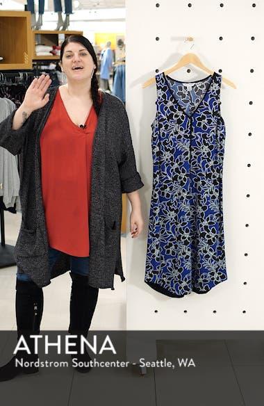 Forte Floral Shift Dress, sales video thumbnail