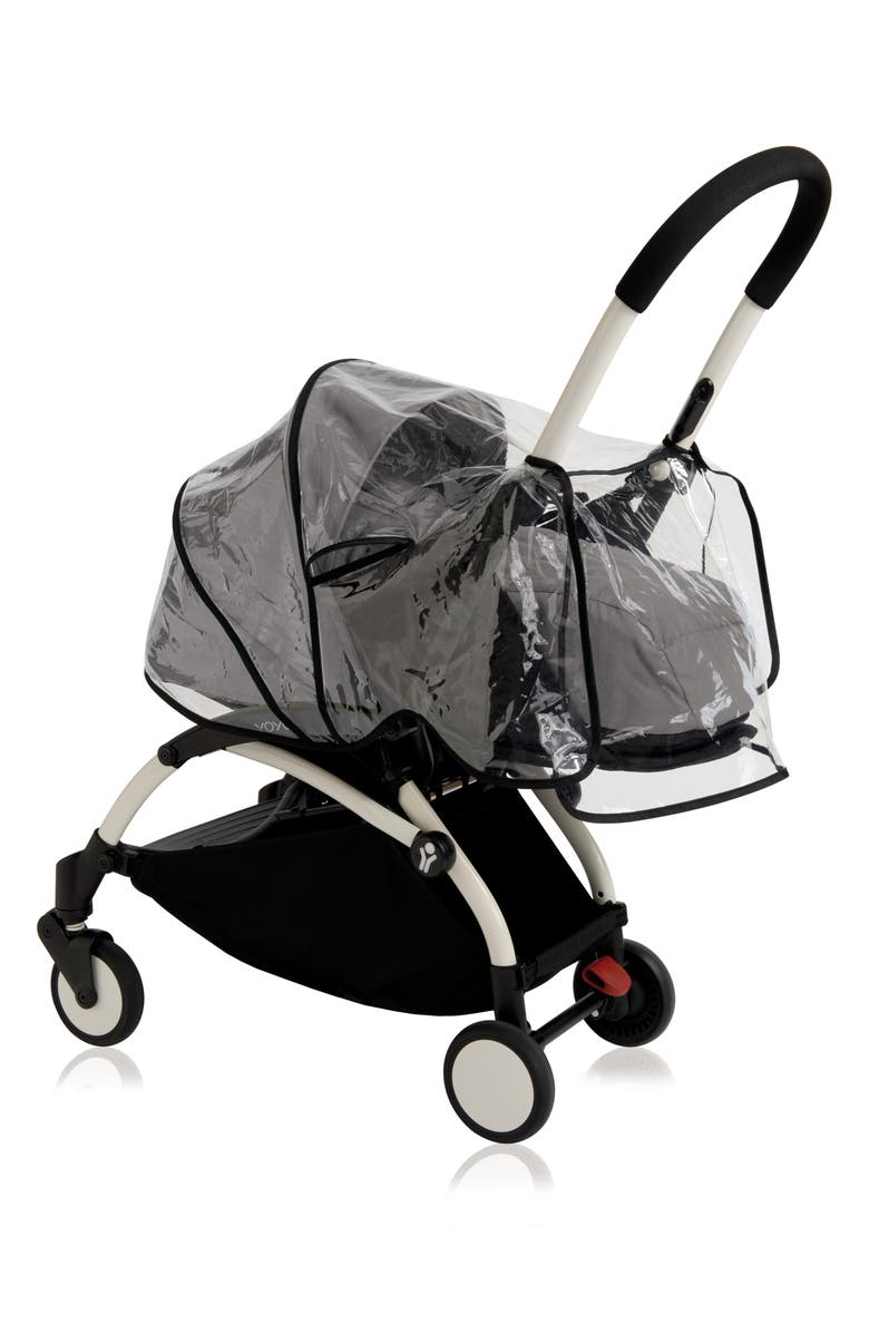 BABYZEN<SUP>™</SUP> Rain Cover for YOYO+ Newborn Pack Stroller, Main, color, CLEAR
