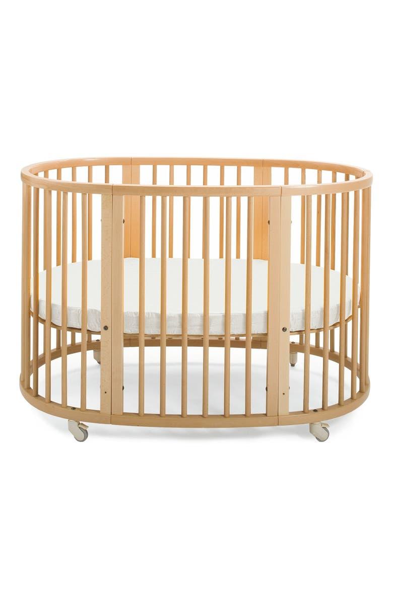 STOKKE Convertible Sleepi Crib & Toddler Bed, Main, color, NATURAL
