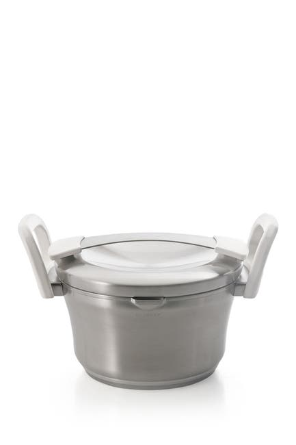 Image of BergHOFF 1.9qt. Stainless Steel Covered Casserole Pot