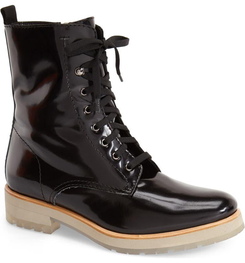 AQUATALIA 'Zifa' Weatherproof Ankle Boot, Main, color, 001