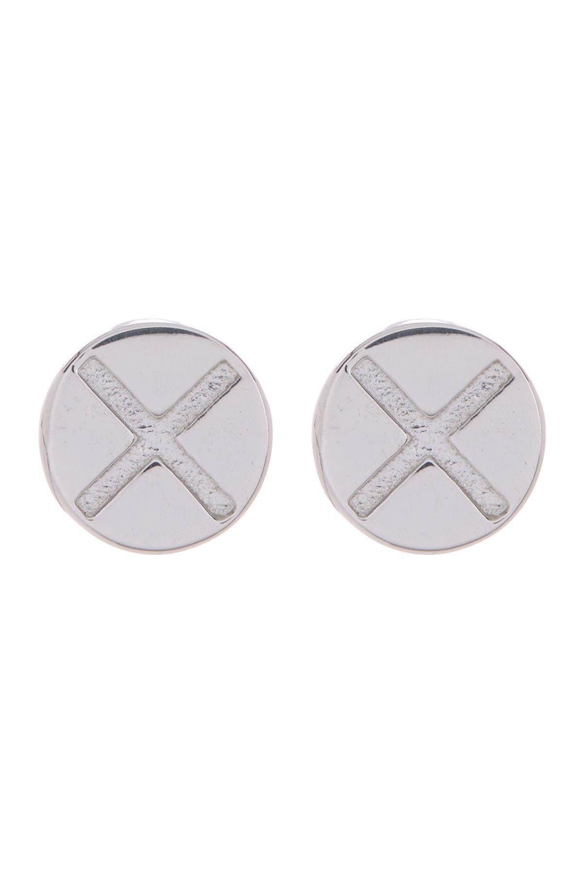 Image of Jac+Jo X-Bolt Stud Earrings