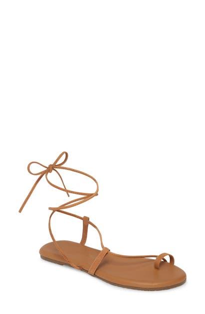 Tkees Jo Lace-Up Sandal
