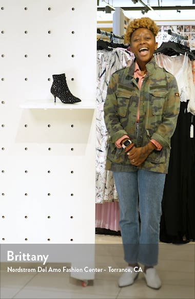 Fatima Embellished Slouchy Bootie, sales video thumbnail