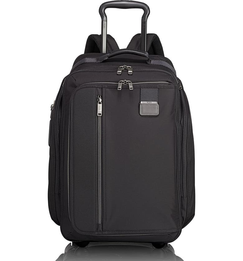 TUMI Merge Wheeled Backpack, Main, color, BLACK CONTRAST