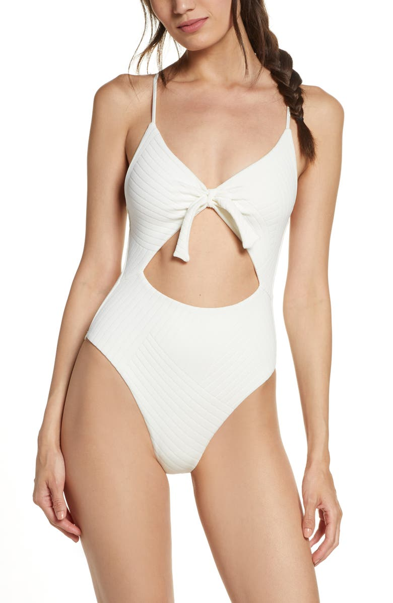 Miss Molly Crossroads Texture One Piece Swimsuit by L Space