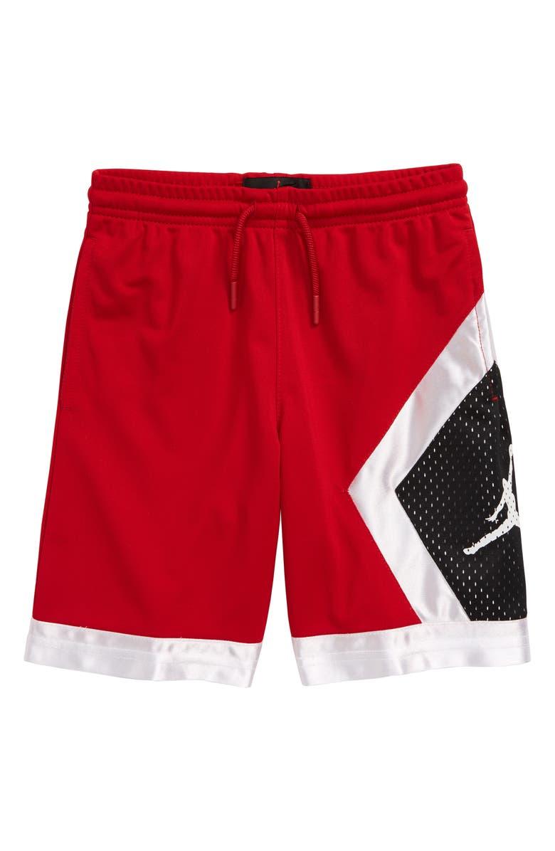JORDAN Blocked Diamond Shorts, Main, color, 608
