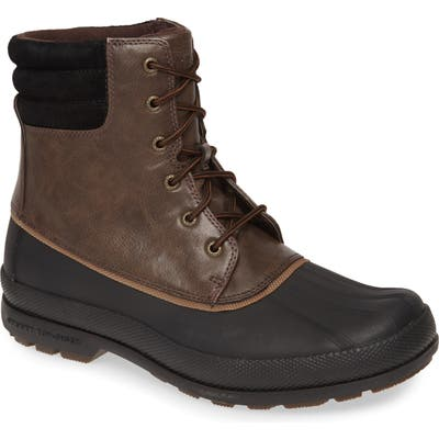Sperry Cold Bay Duck Boot, Brown
