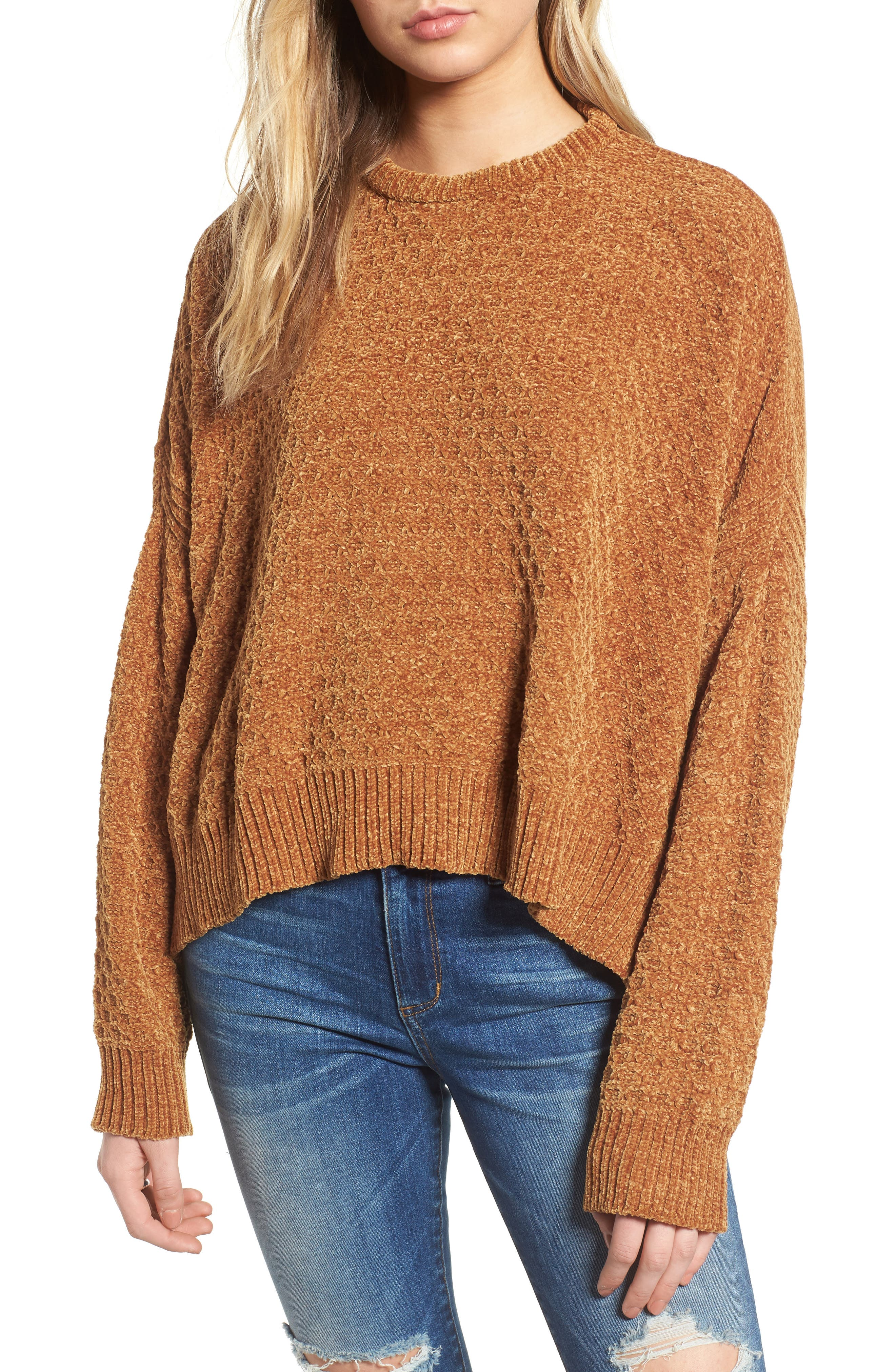 ,                             Chenille Sweater,                             Main thumbnail 8, color,                             701