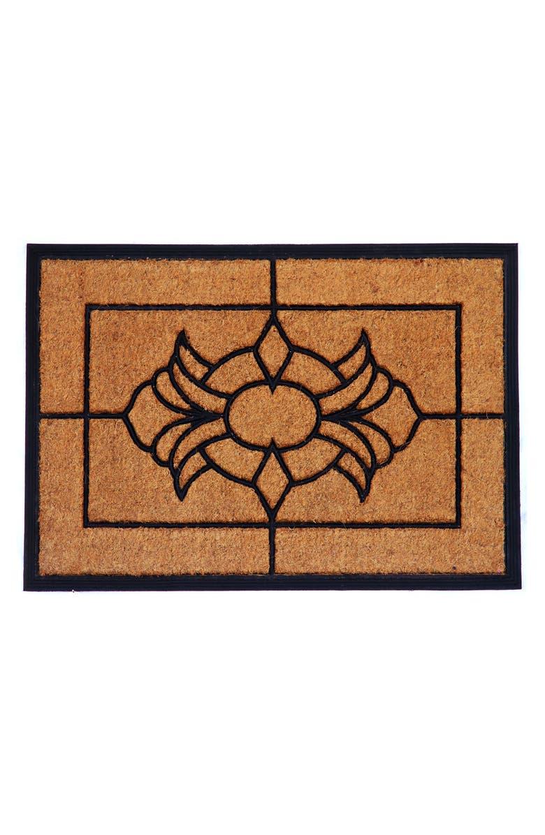 CALLOWAYMILLS Viola Doormat, Main, color, NATURAL/ BLACK