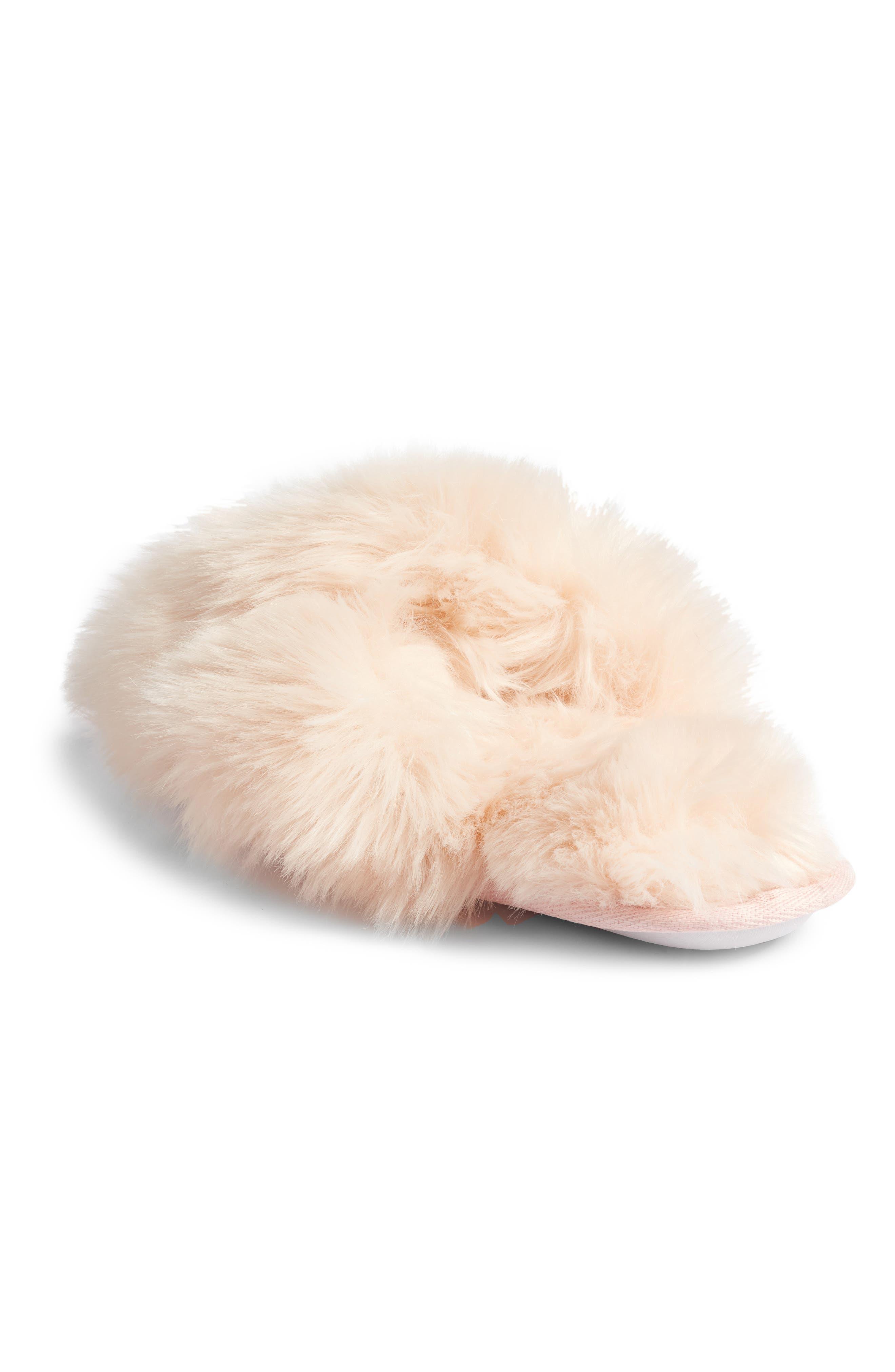 ,                             Cuddle Plush Faux Fur Scuff Slipper,                             Alternate thumbnail 16, color,                             650