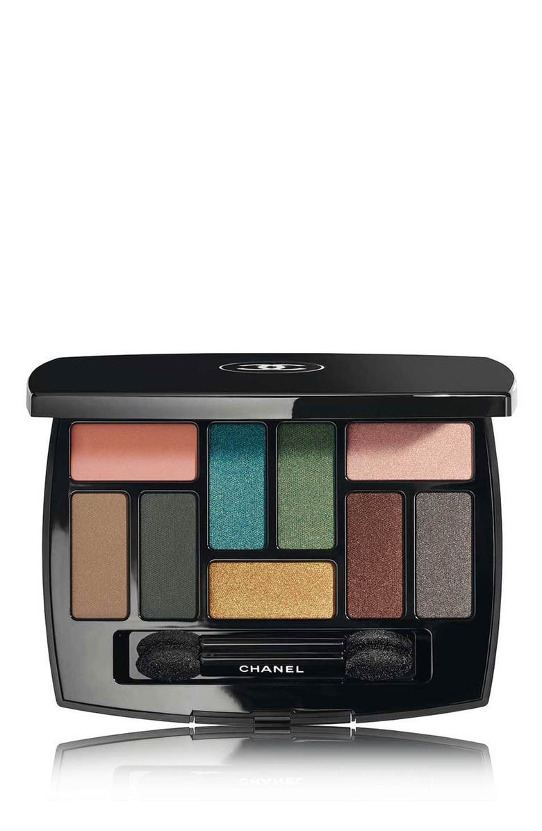 CHANEL EDITION No. 1 AFFRESCO LES 9 OMBRES <br />Multi-Effects Eyeshadow Palette, Main, color, 000