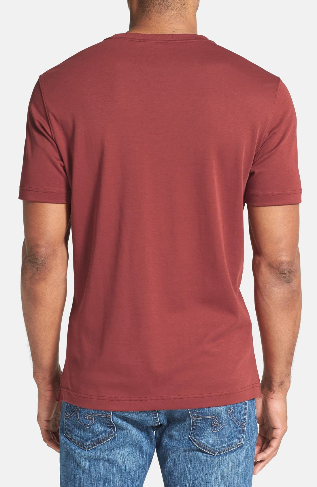 ,                             Georgia Crewneck T-Shirt,                             Alternate thumbnail 450, color,                             622