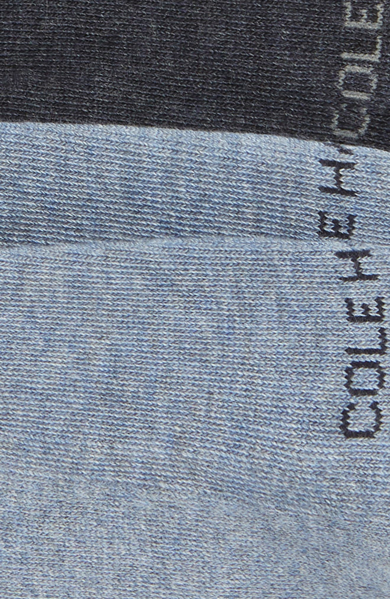 ,                             2-Pack Casual Cushion No-Show Socks,                             Alternate thumbnail 2, color,                             BLUE