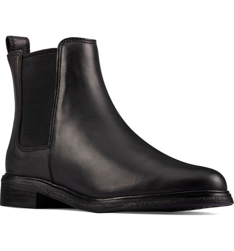 CLARKS<SUP>®</SUP> Clarkdale Arlo Boot, Main, color, BLACK/ BLACK LEATHER